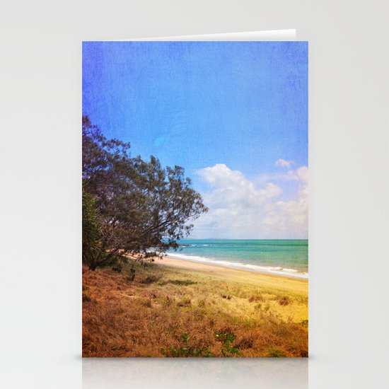 Beautiful Day by the Sea Stationery Cards