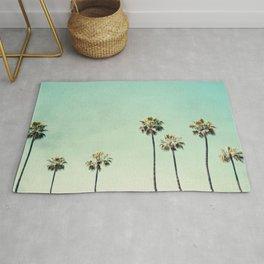 Palm Tree Photography Rug