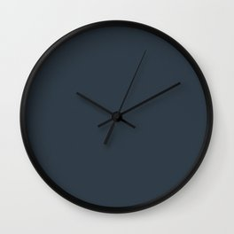 Arsentic Limed Spruce Wall Clock