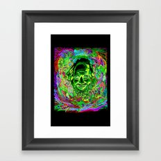 Shulgin Portrait Framed Art Print