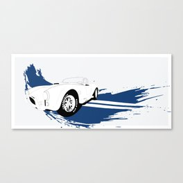 Shelby Cobra Vector Canvas Print