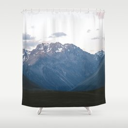 Southern Alps Shower Curtain