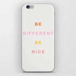 Be Nice! iPhone Skin