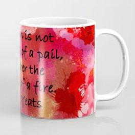 Lighting of a Fire Coffee Mug