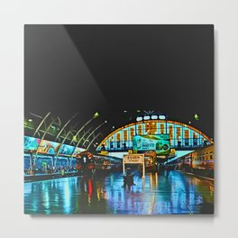 Last Train From Thailand Metal Print