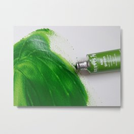 Painting Green #4 Metal Print