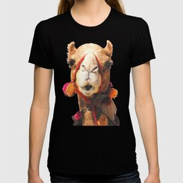 Camel Portrait T-shirt