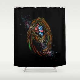 Enchanted Forest Magical Portal Shower Curtain