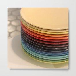 Fiesta Rainbow Metal Print