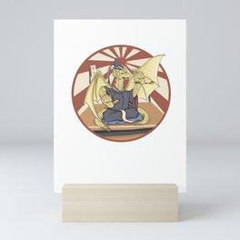 King Ghidorah Mini Art Print