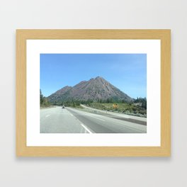 Mountain Bound Framed Art Print