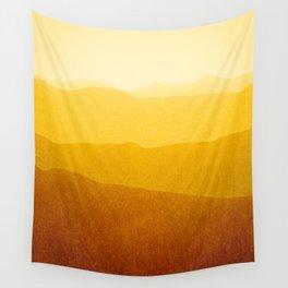 gradient landscape - sunshine edit Wall Tapestry