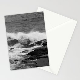 Lake Superior on a Rocky Shore Stationery Cards