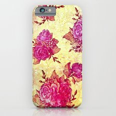 VINTAGE FLOWERS XIV - for iphone iPhone 6s Slim Case