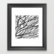 Tumble Weed Framed Art Print