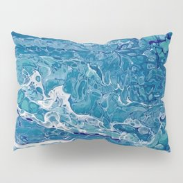 Bahama Blues Pillow Sham