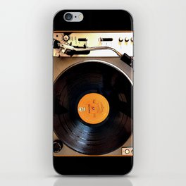 Vintage Pioneer Turntable iPhone Skin