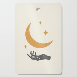 Moonlight Hand Cutting Board