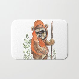 Feisty Bear-creature Bath Mat