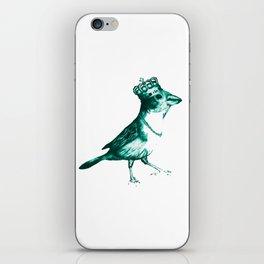 Crown Bird iPhone Skin