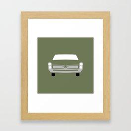 Pontiac GTO ( 1967 ) Framed Art Print