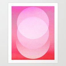 Untitled 20111124a (ANDY'S CIRCLE) Art Print