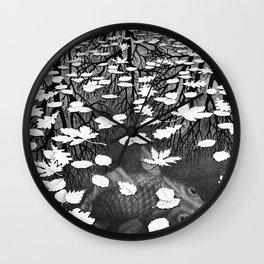 Escher- Three Worlds Wall Clock