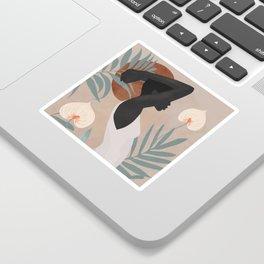 Tropical Girl 4 Sticker