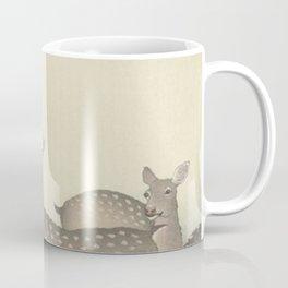 Deer Ohara Koson Coffee Mug