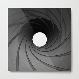 Gun barrel Metal Print