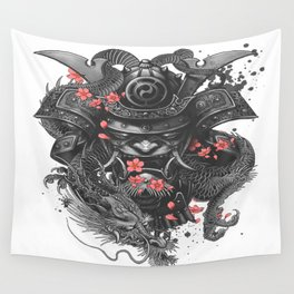 Sleeve tattoo Samurai Irezumi Wall Tapestry
