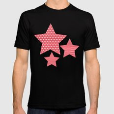 Dots MEDIUM Mens Fitted Tee Black