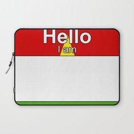 Hello I am from Burkina Faso Laptop Sleeve