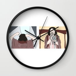 maybe this time - duo Wall Clock
