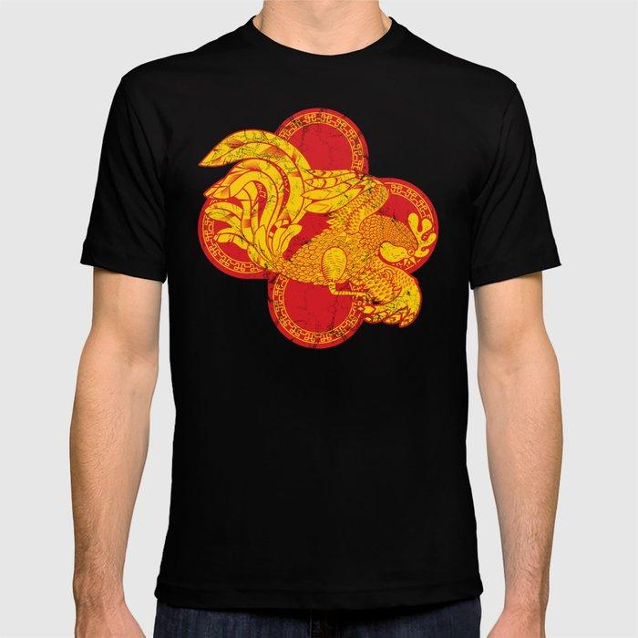 Rooster fire T-shirt