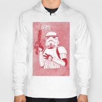 storm trooper Hoodies featuring Storm Trooper by David Penela