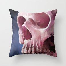 Skull 7 Throw Pillow
