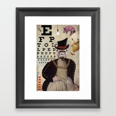 Animal Collection -- 20:20 Framed Art Print