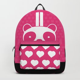 Pink Panda Backpack