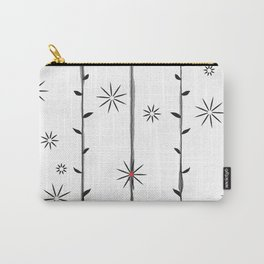 Vertical garden (of little flowers and polka-dot) Carry-All Pouch