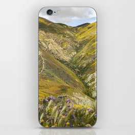Carrizo Plain Wildflowers iPhone Skin