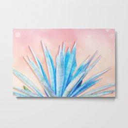 Agave Azul Metal Print