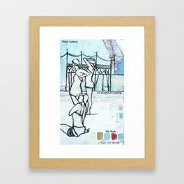 Bathers - Study Framed Art Print