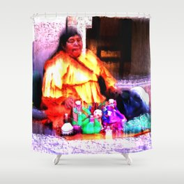 The Dollmaker Shower Curtain