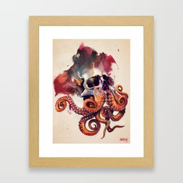 Octobeard Framed Art Print