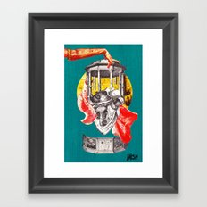 God and the State: Fig 3 - Hail Caesar Framed Art Print