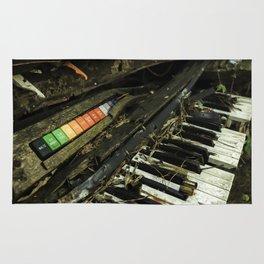 Dilapidated Organ Rug