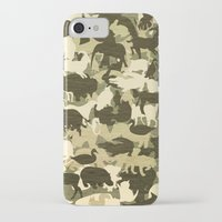 camouflage iPhone & iPod Cases featuring Camouflage by Diego Tirigall