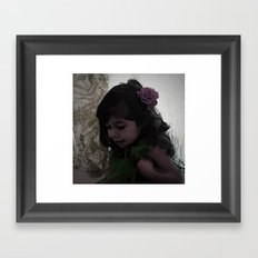 Dancing Princess Framed Art Print
