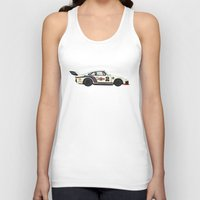 racing Tank Tops featuring Martini Racing by MRKLL